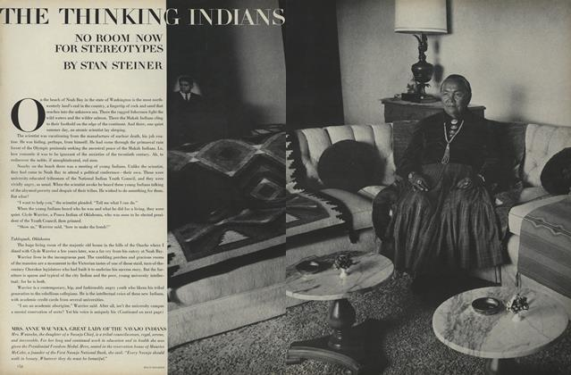 Article Preview: The Thinking Indians: No Room Now for Stereotypes, March 1 1968 | Vogue