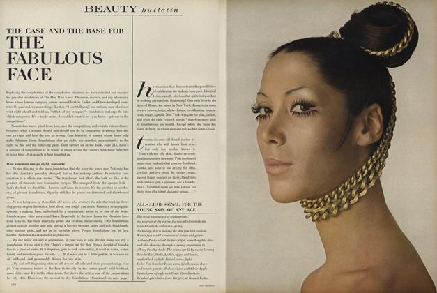 Article Preview: The Case and the Base for the Fabulous Face, March 1 1968 | Vogue