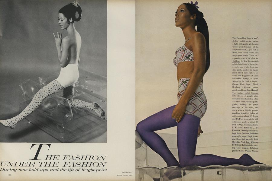 The Fashion Under the Fashion