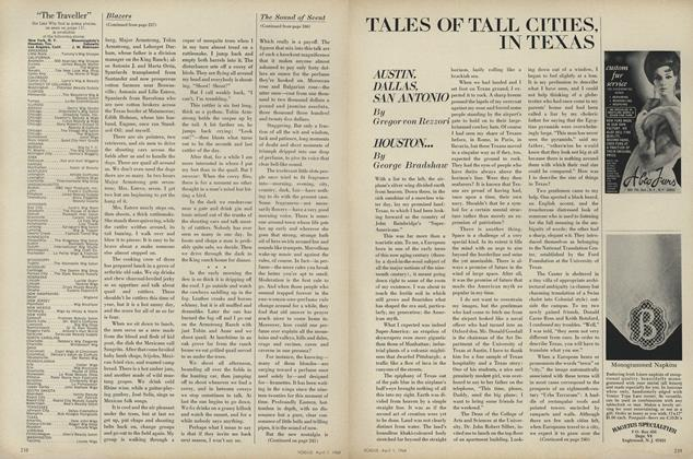 Tales of Tall Cities, in Texas