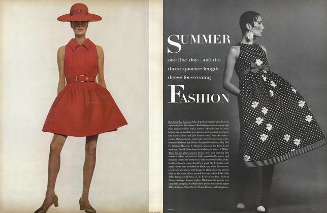 Article Preview: Summer Fashion, April 15 1968 | Vogue