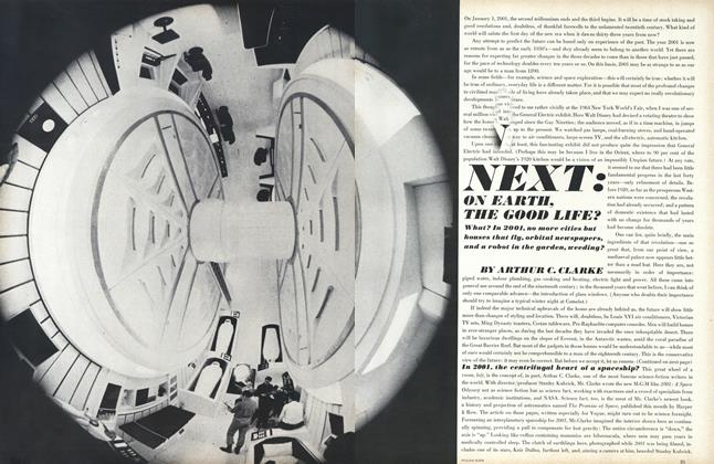 Article Preview: Next: On Earth, the Good Life?, April 15 1968 | Vogue