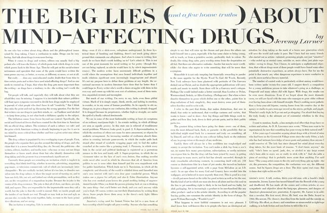 Article Preview: The Big Lies (and a Few Home Truths) About Mind-Affecting Drugs, April 15 1968 | Vogue