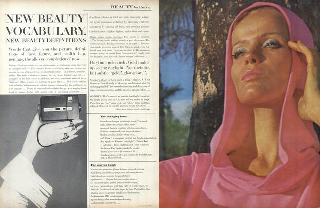 New Beauty Vocabulary, New Beauty Definitions