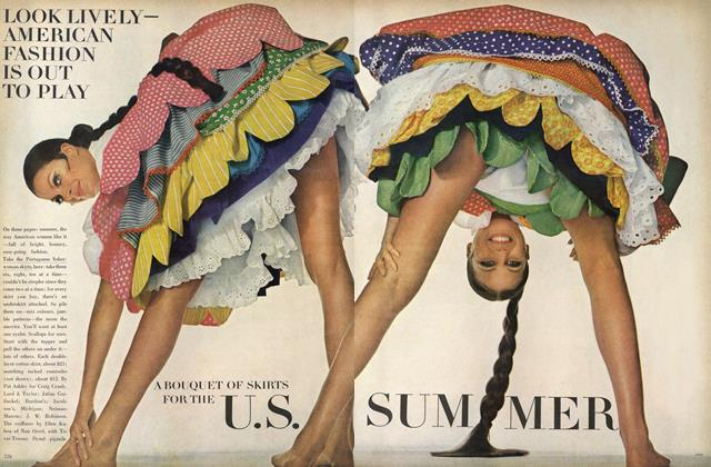 A Bouquet of Skirts for the U.S. Summer