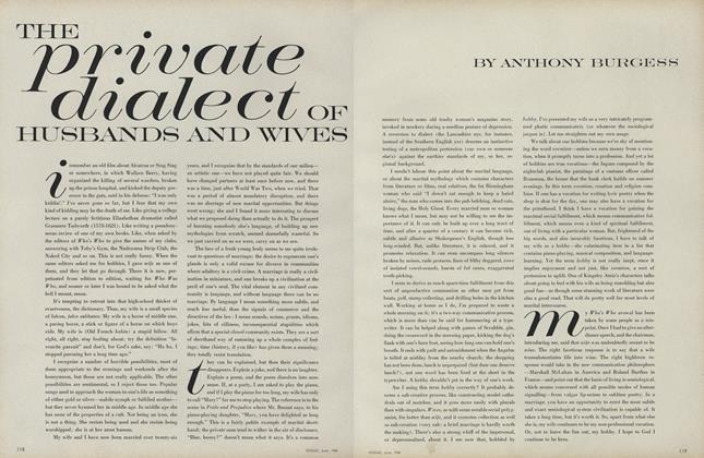 Article Preview: The Private Dialect of Husbands and Wives, June 1968 | Vogue