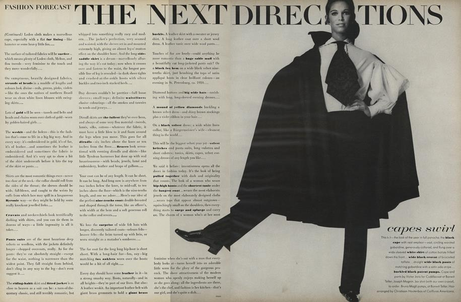 Fashion Forecast: The Next Direction