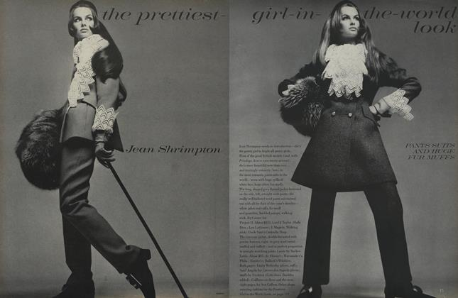 Article Preview: The Prettiest-Girl-In-the-World Look: Jean Shrimpton, August 1 1968 | Vogue