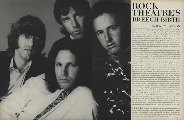 Article Preview: Rock Theatre's Breech Birth, August 1 1968 | Vogue