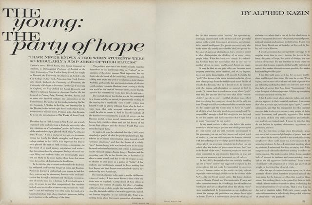 Article Preview: The Young: The Party of Hope, August 1 1968 | Vogue
