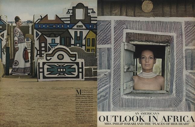 Article Preview: An American's Outlook in Africa, August 1 1968 | Vogue