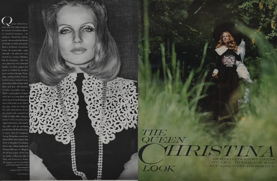 The Queen Christina Look