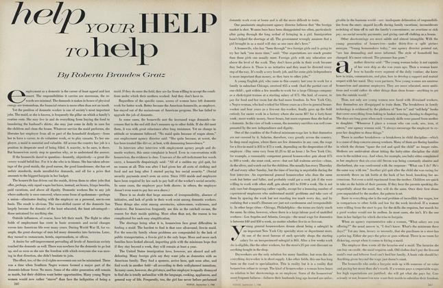 Article Preview: Help Your Help to Help, September 1 1968 | Vogue