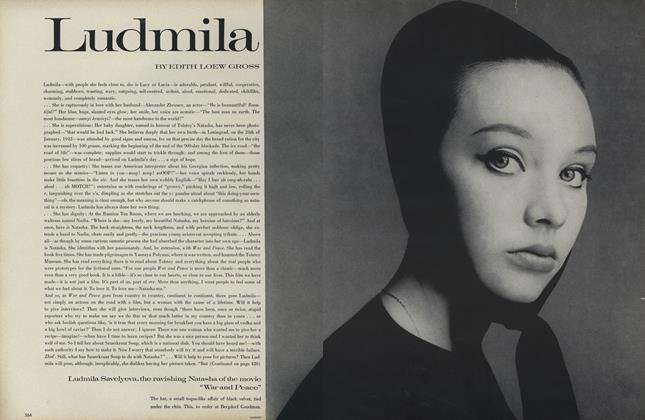 Article Preview: Ludmila, September 1 1968 | Vogue