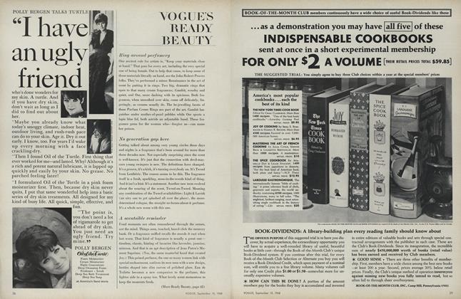 Article Preview: Ring Around Perfumery/No Generation Gap Here..., September 15 1968 | Vogue