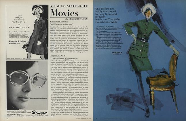 Article Preview: Movies, September 15 1968 | Vogue