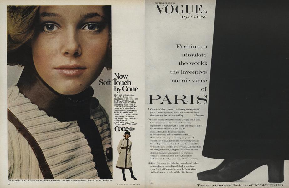 Fashion to Stimulate the World: The Inventive Savoir Vivre of Paris