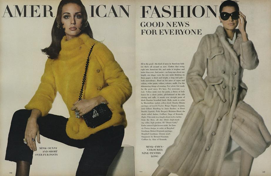 American Fashion: Good News for Everyone