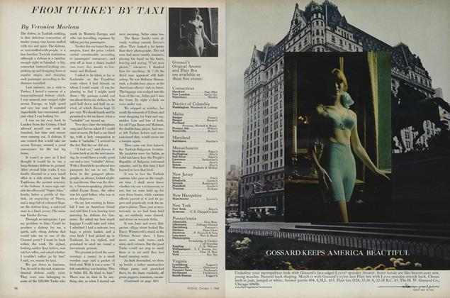 Article Preview: From Turkey by Taxi, October 1 1968 | Vogue