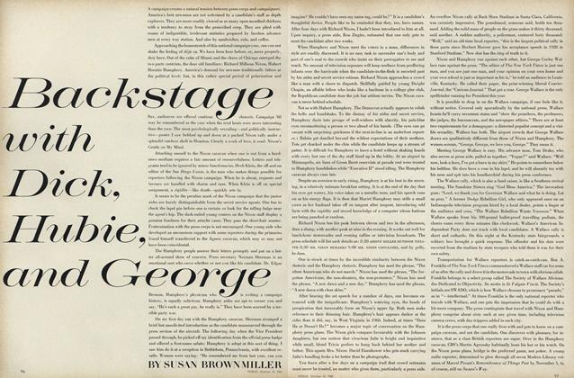 Article Preview: Backstage with Dick, Hubie, and George, October 15 1968 | Vogue
