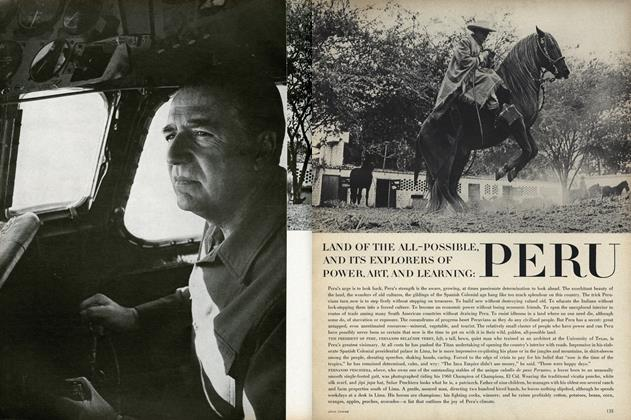 Article Preview: Land of the All-Possible, and its Explorers of Power, Art, and Learning: Peru, October 15 1968 | Vogue