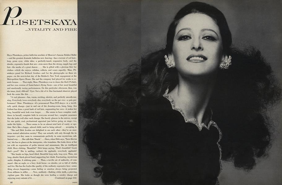 Plisetskaya...Vitality and Fire