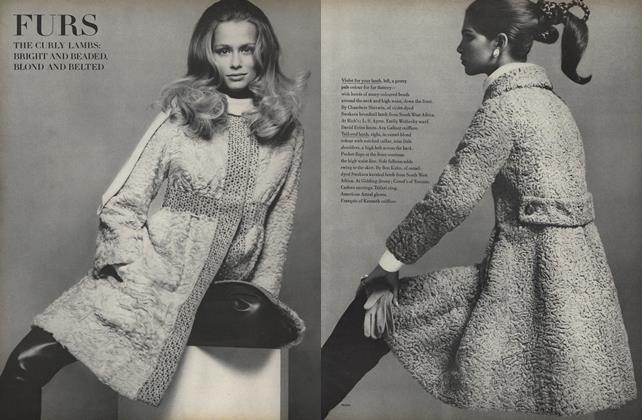 Furs, the Curly Lambs: Bright and Beaded, Blond and Belted