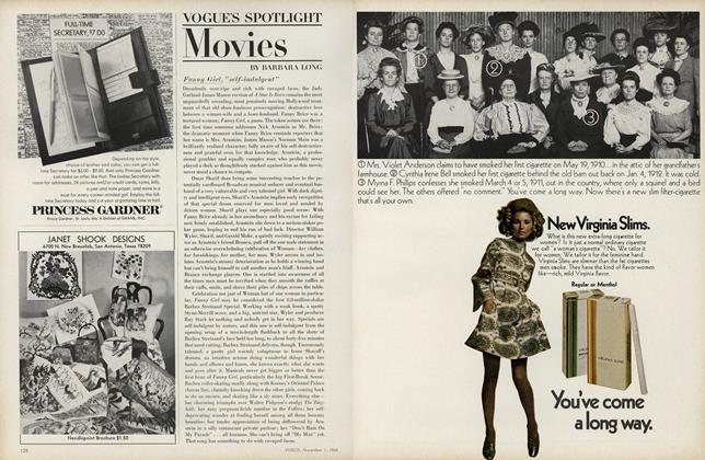 Vogue's Spotlight: Movies: Funny Girl