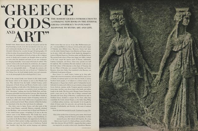 "Article Preview: ""Greece Gods and Art"", November 15 1968 