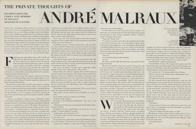 Article Preview: The Private Thoughts of Andre Malraux, November 15 1968 | Vogue