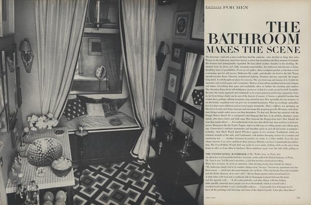 The Bathroom Makes the Scene