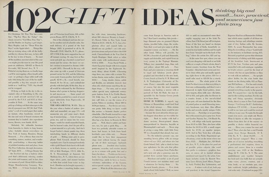 102 Gift Ideas