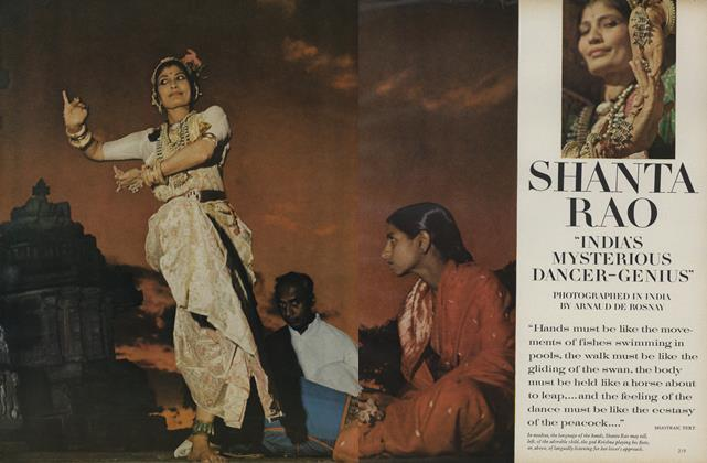"Shanta Ra: ""India's Mysterious Dancer-Genius""/In India, the Dance: Beauty in Discipline, Passion in Tradition"