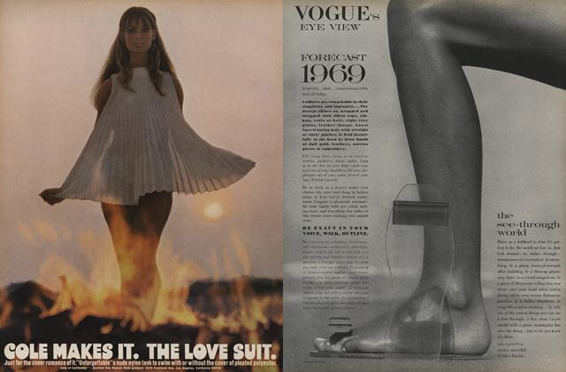 Article Preview: Forecast 1969, January 1 1969 | Vogue