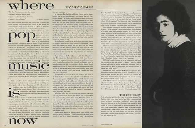 Article Preview: Where Pop Music Is Now, January 1 1969 | Vogue