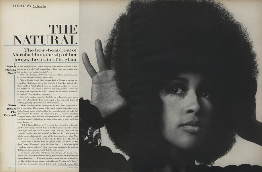 The Natural: Marsha Hunt