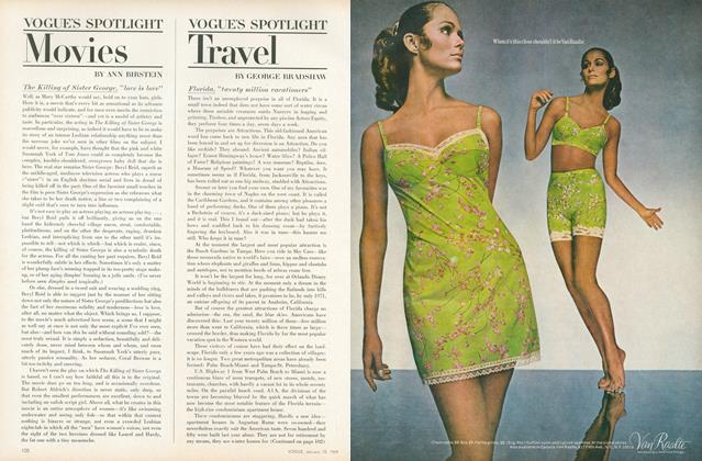 Article Preview: Vogue's Spotlight: Travel, January 15 1969 | Vogue