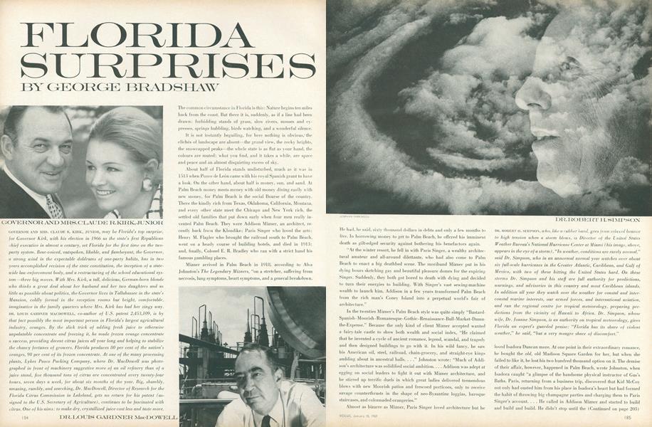 Florida Surprises