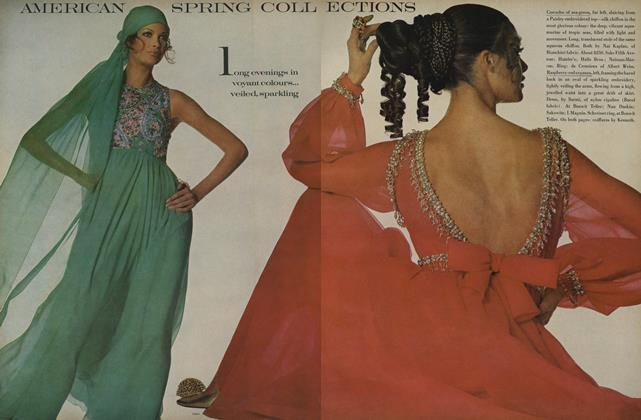 Article Preview: American Spring Collections, February 1 1969   Vogue