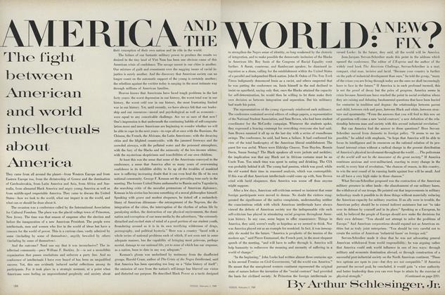 America and the World: A New Fix?