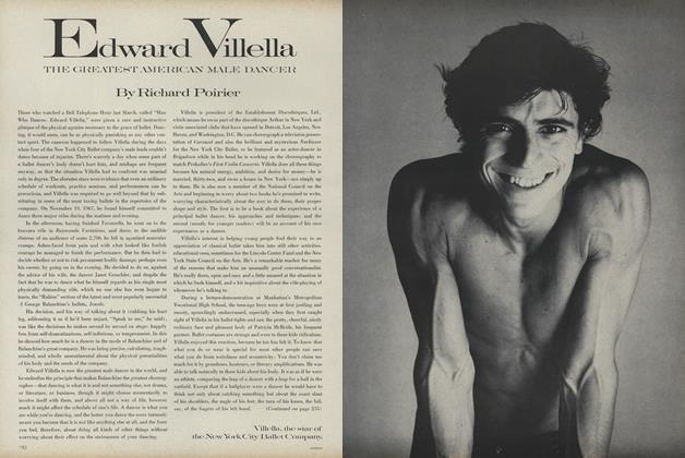 Article Preview: Edward Villella: The Greatest American Male Dancer, February 1 1969   Vogue