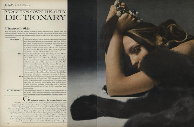 Article Preview: Vogue's Own Beauty Dictionary, February 1 1969   Vogue