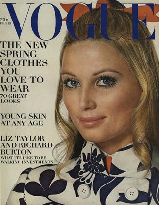 Cover for the February 15 1969 issue