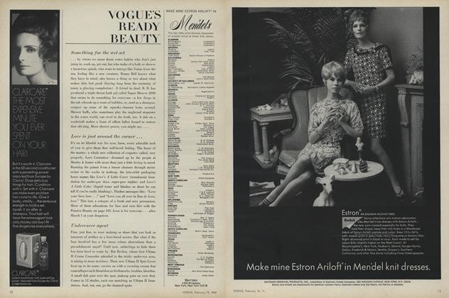 Article Preview: Vogue's Ready Beauty, February 15 1969 | Vogue
