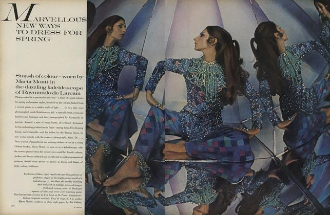 Article Preview: Marvellous New Ways to Dress for Spring, March 1 1969 | Vogue