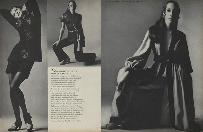 Article Preview: New Ways to Dress for Spring, March 1 1969 | Vogue