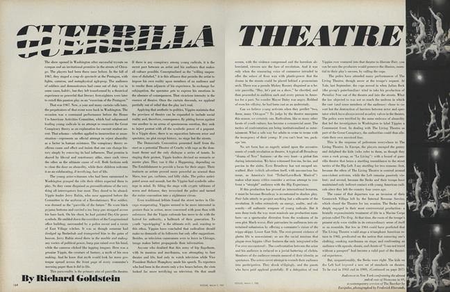 Article Preview: Guerrilla Theatre, March 1 1969 | Vogue