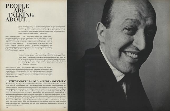 Clement Greenberg, Masterly Art Critic...