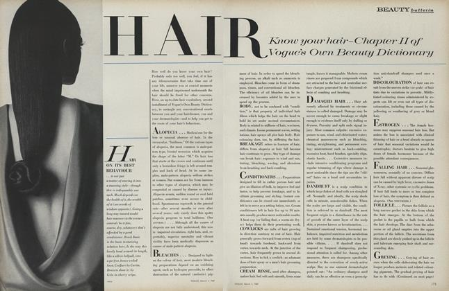 Article Preview: Hair, March 1 1969 | Vogue