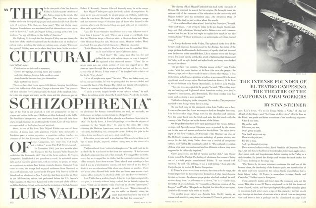 """The Cultural Schizophrenia of Luis Valdez"""